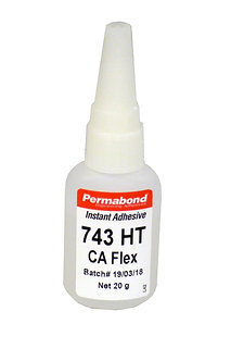 Permabond 743HT 1 x 20g bottle