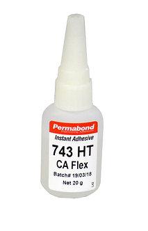 Permabond 743HT flexible cyanoacrylate adhesive