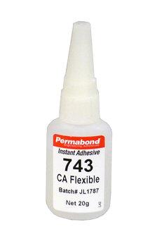 Permabond 743 1 x 20g bottle