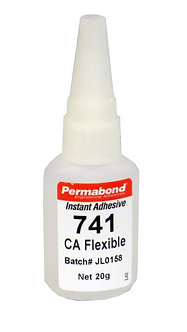 Permabond 741 1 x 20g bottle