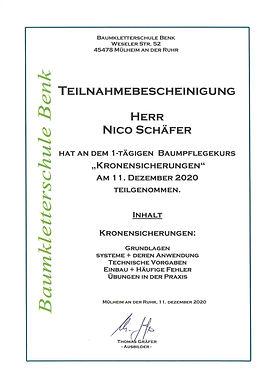 Teilnahmebescheinigung Kronensicherung.j