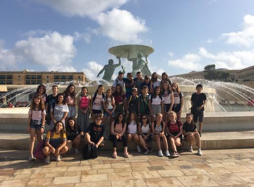 Le voyage à Malte