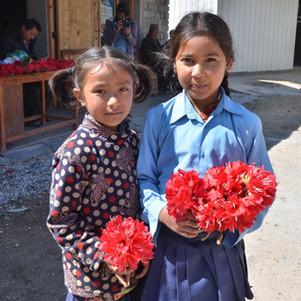 Inauguration de l'école de Gaurimudi