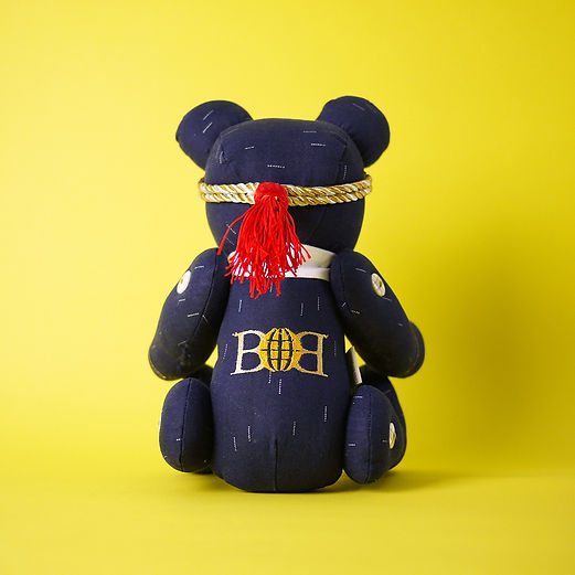 personalised, fully-customised, tailor-made teddy bear
