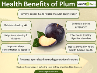 Health & Nutritional Benefits of iJuice Plum