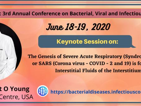 The Genesis of Severe Acute Respiratory (Syndrome) or SARS & Corona Virus or COVID - 19