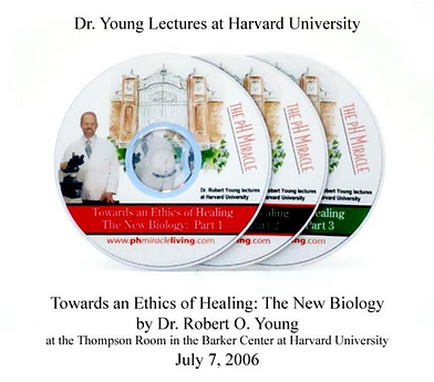 Dr. Young lectures at Harvard on CD