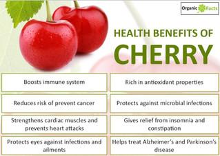 The Health Benefits of iJuice Cherry