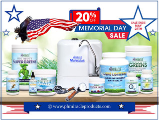 HUGE pH Miracle Products Memorial Day Sale!