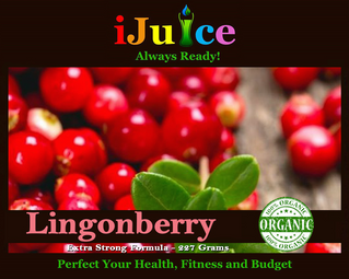 Health & Nutritional Benefits of iJuice Lingonberry