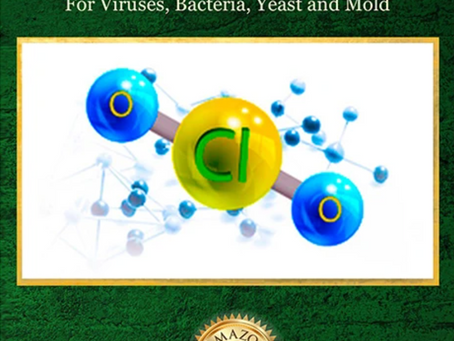 The Alkalizing Benefits of Chlorine Dioxide (CLO2) in Human Health