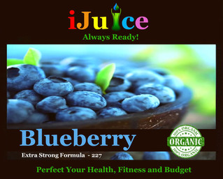iJuice Blueberry Benefits for Health