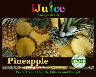 Health & Nutritional Benefits of iJuice Pineapple