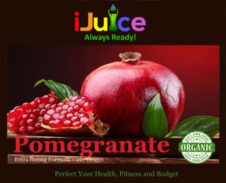 Wonderful Health Benefits of iJuice Pomegranate