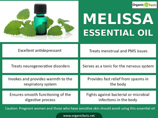 Health Benefits of Melissa Oil