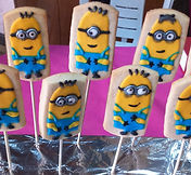decorated cookies - minions