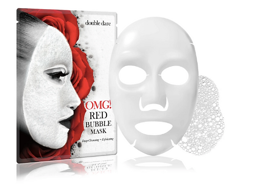 OMG! Red Bubble Mask