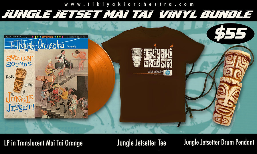 JungleJetset Mai Tai Orange Vinyl Bundle