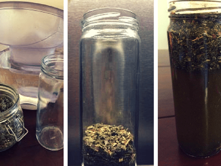 Herbal 101 – How to make a Cold Infusion