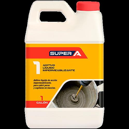 Super A 1 Aditivo líquido impermeabilizante
