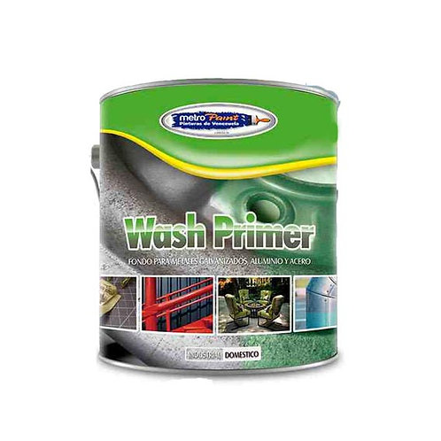 Wash Primer, Fondos para metales galvanizados, aluminio y acero Metropaint