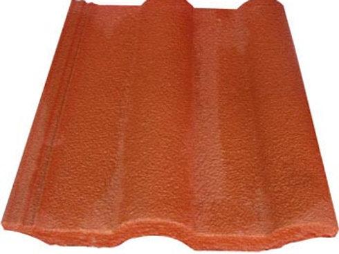 Teja de concreto Modelo Romana - Arcilla