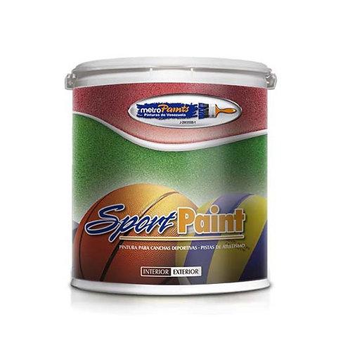 Pintura Sport Paint, pintura para canchas deportivas Metropaint