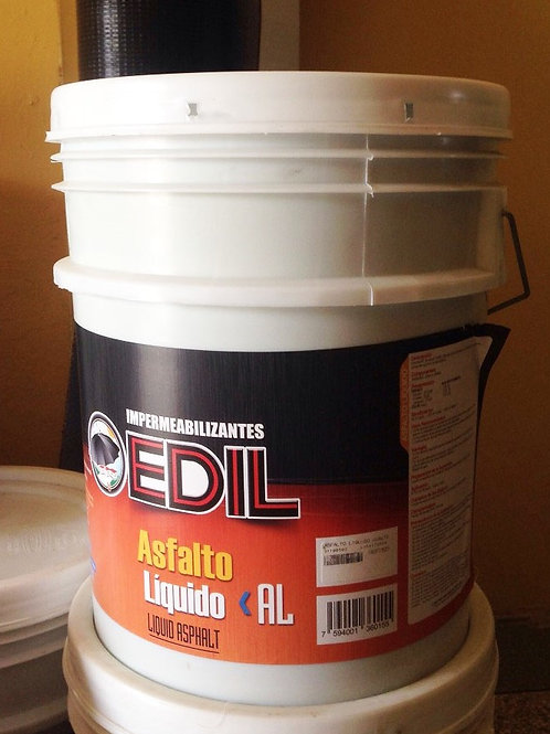 Cuñete de Asfalto liquido Edil