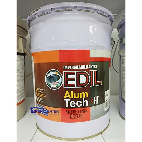 Pintura de aluminio no asfáltica Edil