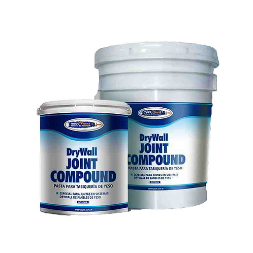 Drywall Joint Compound, Mastique para Tabiqueria de Yeso Metropaint