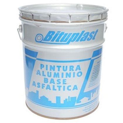 Pintura de aluminio base asfáltica Bituplast