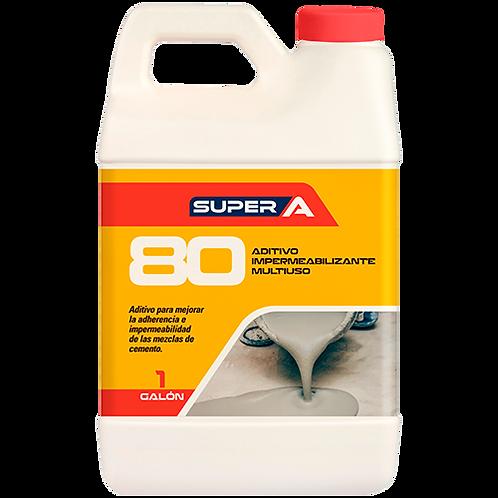 Super A 80 aditivo impermeabilizante multiuso