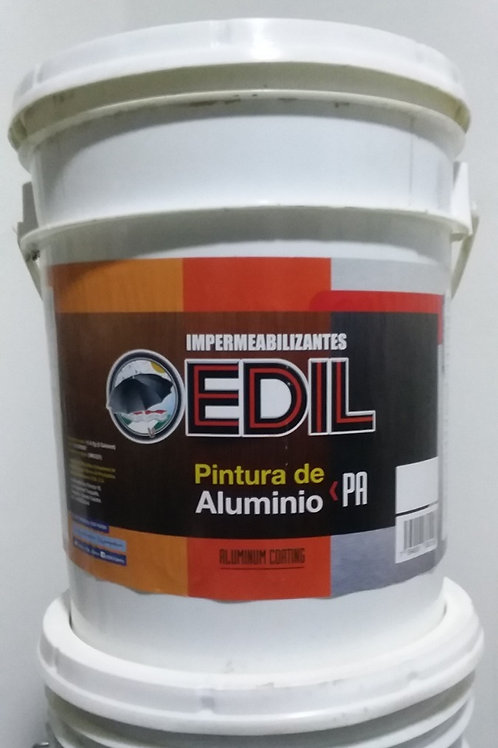 Cuñete de Pintura de Aluminio Edil