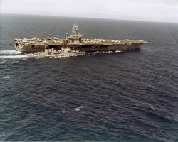 Refueling from the Nimitz a