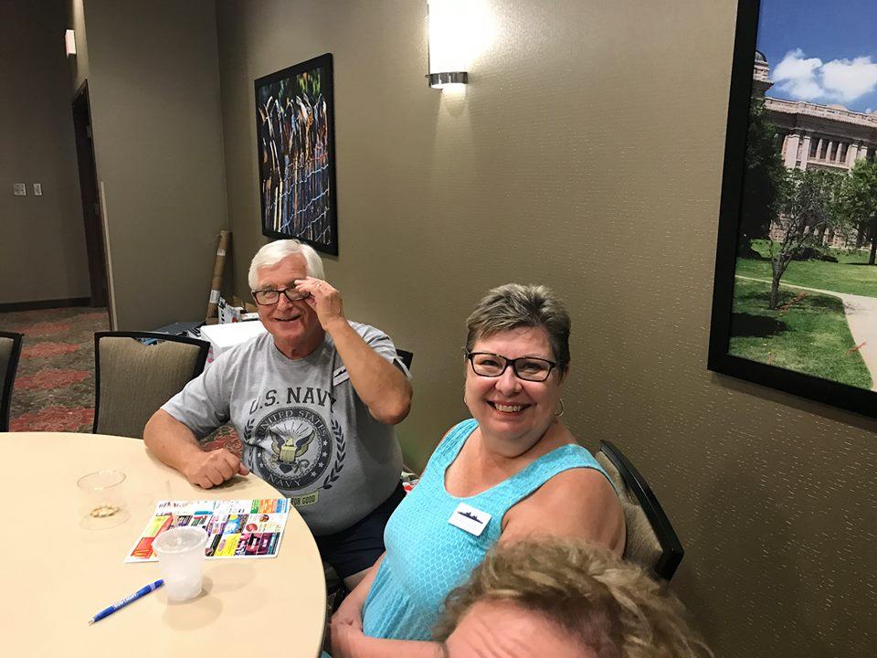 Bob Crans and Maryreunion 2017