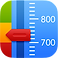 Asthma MD Logo, a small square image of a breathing meter