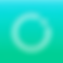 Dot Logo, a blue and green square with small white circle outline brokenby a white dot in the upper right edge