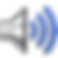Speech Assistant Logo, a silver volume icon with blue sound bars