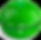 Pomodroido Logo, a green apple shaped kitchen timer