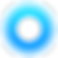 Center Health Logo, concentric blue circles