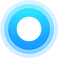 Center Health Logo, concentric blue circles
