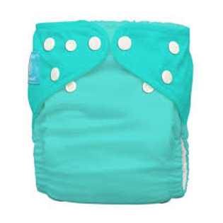 Pañal Liso Fluorescent Turquoise