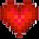 Sandbox Logo, A red pixelated heart