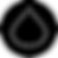 Beyond Type 1 Logo, a black circle with white dots forming the shape of a droplet