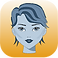 HeadApp Logo, a yellow gradient square with a greyscale person's head with short hair