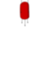 Screenshot of Stress Baal, a white screen with a small red cartoon demon hanging from the very top.