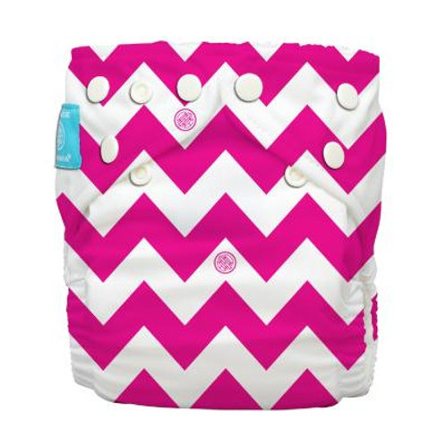 Red Hot Pink Chevron