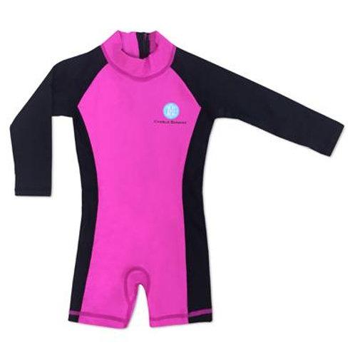 Jumpsuit Negro/Hot Pink