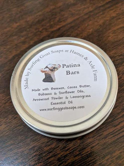 Patina Bar - Meltable Lotion Bar