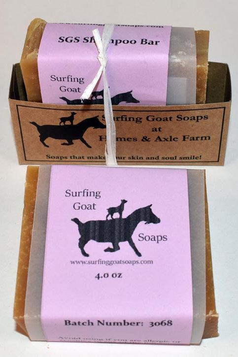 SGS Shampoo Bar